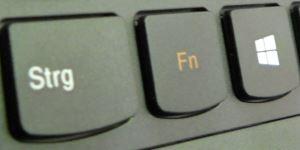 Die Notebook Fn-Taste
